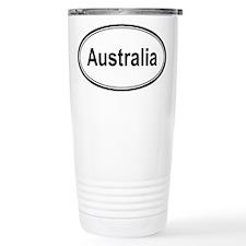 Australia (oval) Ceramic Travel Mug