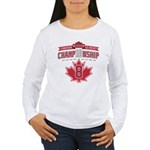 2010 Championship Women's Long Sleeve T-Shirt