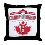 2010 Championship Throw Pillow
