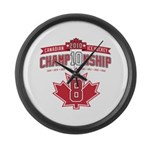 2010 Championship Large Wall Clock
