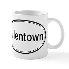 Allentown (oval) Small Mug