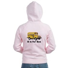 B is for Bus Zip Hoodie