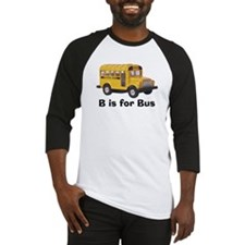 B is for Bus Baseball Jersey
