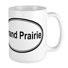 Grand Prairie (oval) Ceramic Mugs