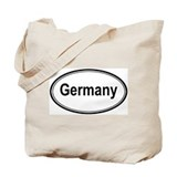 Germany (oval) Tote Bag