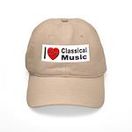 I Love Classical Music Cap