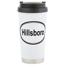 Hillsboro (oval) Ceramic Travel Mug