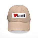 I Love Farmers Cap