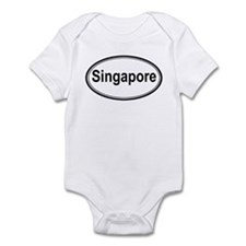 Singapore (oval) Infant Bodysuit