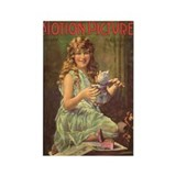 Mae Murray Christmas 1920 Rectangle Magnet