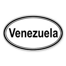 Venezuela (oval) Oval Decal