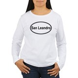 San Leandro (oval) T-Shirt
