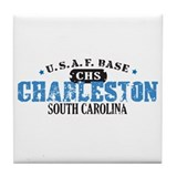 Charleston Air Force Base Tile Coaster