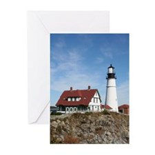 Portland Head Light Greeting Cards (Pk of 20)