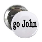 "go John 2.25"" Button (100 pack)"