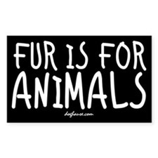 Fur Rectangle Decal