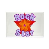 Rock Star Rectangle Magnet