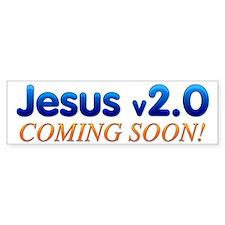 Jesus v2.0 Bumper Bumper Sticker