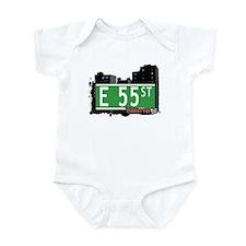 E 55 STREET, MANHATTAN, NYC Infant Bodysuit