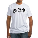 go Chris Fitted T-Shirt