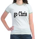 go Chris Jr. Ringer T-Shirt