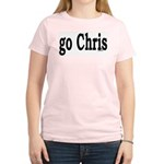 go Chris Women's Pink T-Shirt