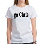 go Chris Women's T-Shirt