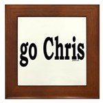 go Chris Framed Tile