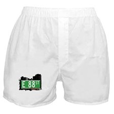 E 88 STREET, MANHATTAN, NYC Boxer Shorts