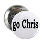 "go Chris 2.25"" Button (10 pack)"