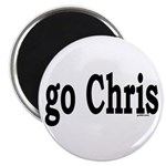 "go Chris 2.25"" Magnet (10 pack)"