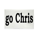 go Chris Rectangle Magnet (10 pack)