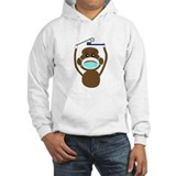 Sock Monkey Occupations Jumper Hoody