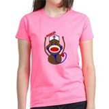 Nurse Sock Monkey Tee