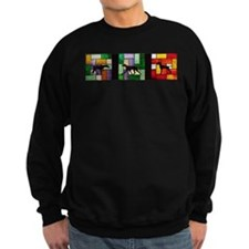 Stained Glass Pointer Sweatshirt