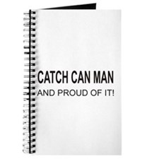 Catch Can Man Journal