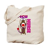 Nurse Sock Monkey Tote Bag