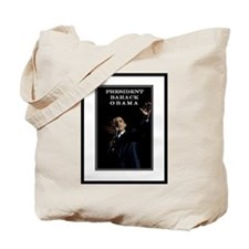PRESIDENT BARACK OBAMA Tote Bag