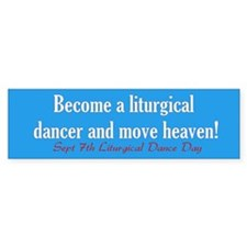 """Move Heaven"" Bumper Bumper Sticker"