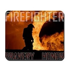 Firefighter Bravery/Honor Mousepad