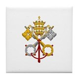 Cool Pope Tile Coaster