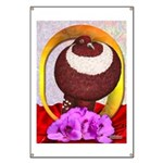 Flower Pouter Pigeon Banner