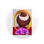 "Flower Pouter Pigeon 3.5"" Button (100 pack)"