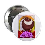 "Flower Pouter Pigeon 2.25"" Button (10 pack)"