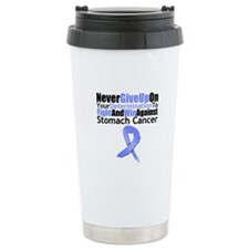 StomachCancerFight Ceramic Travel Mug
