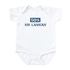 50 Percent Sri Lankan Infant Bodysuit