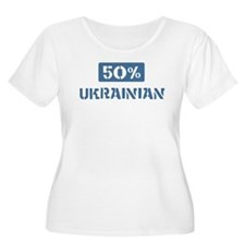 50 Percent Ukrainian T-Shirt