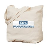 50 Percent Panamanians Tote Bag