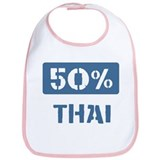 50 Percent Thai Bib