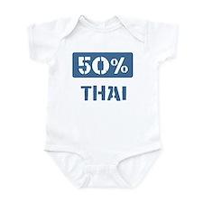 50 Percent Thai Onesie